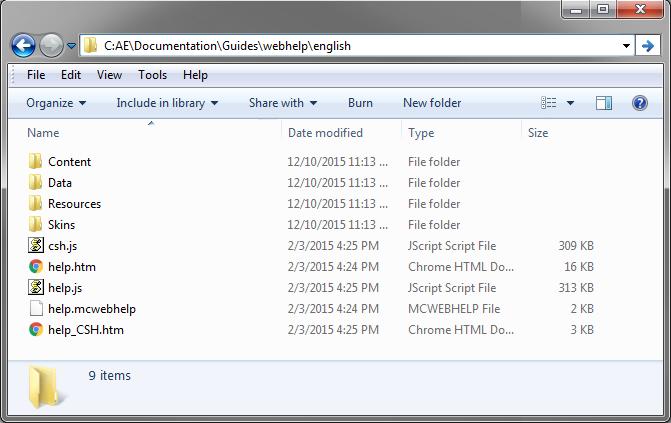 Installing the Online Documentation